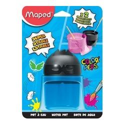 Maped pot à eau color peps, sous carte blister