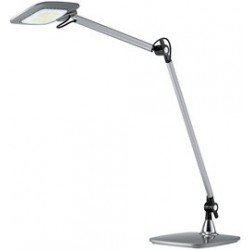Hansa lampe de bureau led e-motion, argent