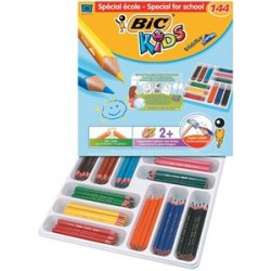 Bic kids crayon de couleur triangulaire evolution triangle,