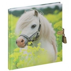"""Pagna journal intime """"petit poney"""", 128 pages"""