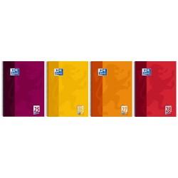 Oxford cahier à spirale, a4+, uni, 160 pages, orange