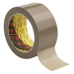3m scotch ruban adhésif d'emballage 6890, 50mm x 66m, marron