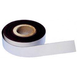 Magnetoplan magnetband, pvc, weiß, 30 mm x 30 m