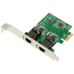 Logilink carte réseau pci gigabit ethernet rj45, 2 ports