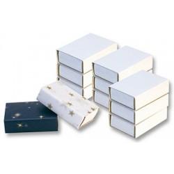Folia boîtes d'allumettes neutres, blanc