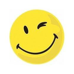 """Franken symbole de notation """"negatif"""", autocollant, jaune"""