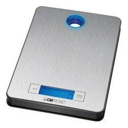 Clatronic balance de cuisine kw3412, portable, 5 kg, inox
