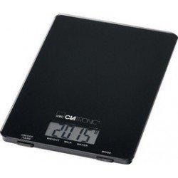 Clatronic balance de cuisine kw 3626, charge 5 kg, noir