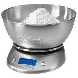 Profi cook balance de cuisine pc-kw 1040, acier inoxydable