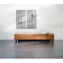 "Sigel glas-magnettafel ""artverum"", (b)910 x (h)460 mm"