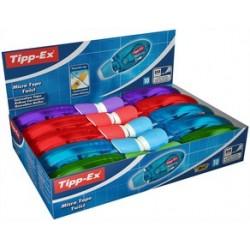 "Tipp-ex ruban correcteur ""micro tape twist"", présentoir (LOT DE 10)"