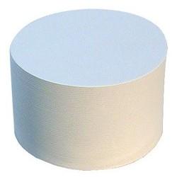 Folia cartons à bière à décorer, uni, rond, diamètre: 107 mm