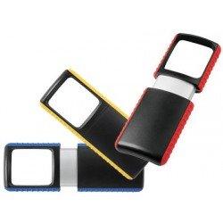 Wedo loupe outdoor rectangulaire à éclairage led, présentoir (LOT DE 15)