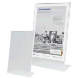 Magnetoplan présentoir de table, a4 portrait, incliné