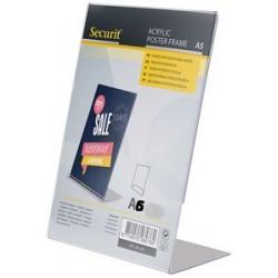 Securit ardoise de table acrylic, a8, incliné