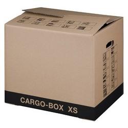 """Smartboxpro carton de déménagement """"cargo-box-plus s"""",marron (LOT DE 10)"""
