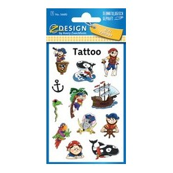"Avery zweckform tatouages zdesign kids ""chevalier"""
