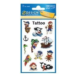 "Avery zweckform tatouages zdesign kids ""coeurs"""