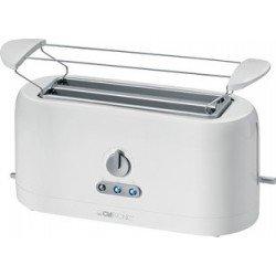 Clatronic  grille-pain ta 3534 pour 4 tranches, blanc