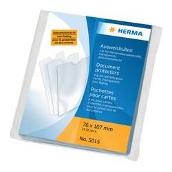 Herma étui de poche, pp, 1 poche, 0,14 mm, transparent (LOT DE 25)