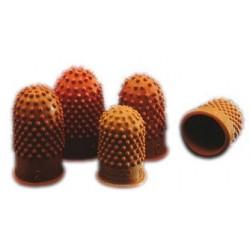 Rexel doigtier, taille 00 - diamètre: 17 mm,  orange