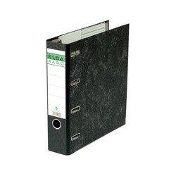 Elba classeur double mécanisme rado, largeur dos: 75 mm,noir