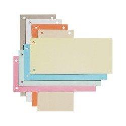 Elba intercalaires en carton, pour format a4, blanc,