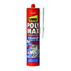 Uhu colle de montage polymax express, blanc