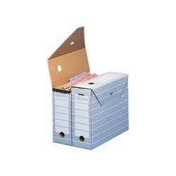 Elba boîte d'archivage tric pour format a3, gris / blanc (LOT DE 10)