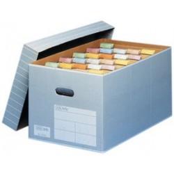 Elba boîte d'archives et de transport tric pour a4, gris/ (LOT DE 5)