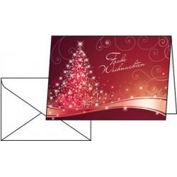 """Sigel carte de noel """"christmas feeling"""", a6 (a5)"""