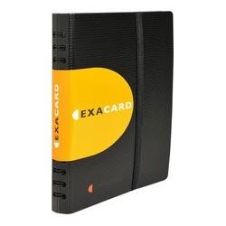 Exacompta classeur pour cartes de visite exacard, pp, noir