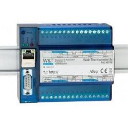 W&t thermographe web 8x, pour la surveillance et l'affichage