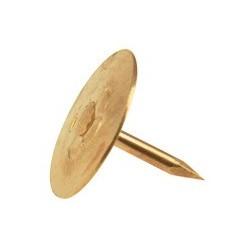 Punaise 9 mm, laitonné