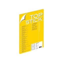 Top stick etiquettes pour dos de classeur, 192 x 38 mm,