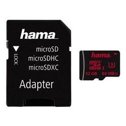 Hama carte mémoire micro securedigital hc, classe 3, 32 go