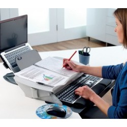 Fellowes support de documents/sous-main easy glide