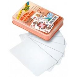 Folia jeu de cartes uni, 65 x 100 mm, 36 cartes, blanc
