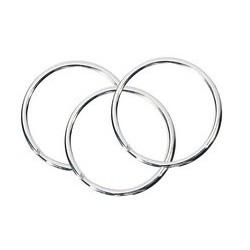 Wedo anneaux porte-clés en métal, diamètre: 20 mm