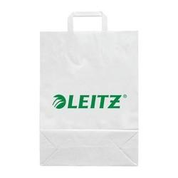 Leitz sachet en papier avec imprimé publicitaire leitz,petit