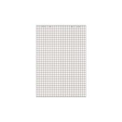 LandrÉ bloc paperboard, 20 feuilles, à carreaux / en blanc (LOT DE 5)