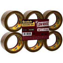 3m scotch ruban adhésif d'emballage low noise, 50 mm x 66 m
