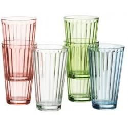 """Ritzenhoff & breker longdrinkglas """"lawe"""", 400 ml, hellblau"""