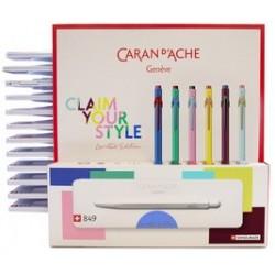 Caran d'ache stylo à bille rétractable 849 claim your style