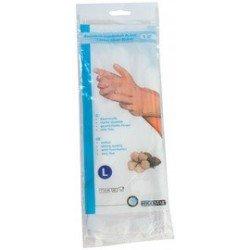 "Hygostar gant en coton ""blanc"", s, blanc"