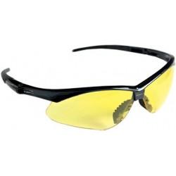 Hygostar lunettes de protection jaune, verres jaunes