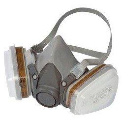 3m demi-masque avec filtres à échange 6002c