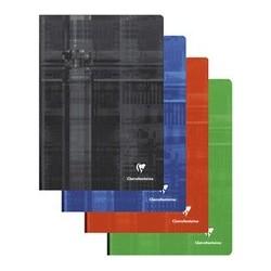 Fin de série : clairefontaine cahier broché, a4, quadrillé (LOT DE 4)