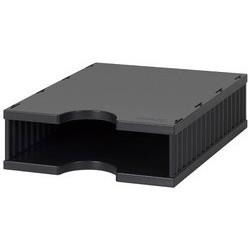 Styro unité d'extension styrodoc uno, 2 compartiments, noir/