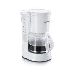Severin cafetière électrique ka 4478, 800 watts, blanc